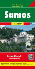 Freytag & Berndt Autokarte Samos 1 : 50.000; Samo