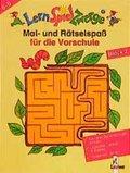 LernSpielZwerge, Mal- und Rätselspaß: Mal- und Rätselspaß für die Vorschule; Vorschule; Block.2