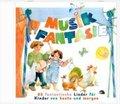 Musik-Fantasie: Die Lieder aus 2 Musikschuljahren, 1 Audio-CD; Audio-CDs