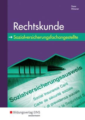 Rechtskunde für Sozialversicherungsfachangestellte