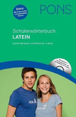 PONS Schülerwörterbuch Latein, m. CD-ROM