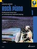 Rock Piano, m. Audio-CD - Tl.1