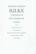 Tagebuch Westerwede, Paris. 1902, 2 Bde.