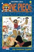 One Piece: Das Abenteuer beginnt; Bd.1