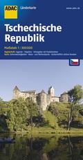 ADAC Karte Tschechische Republik