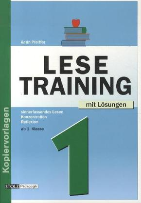 Lesetraining: Ab 1. Klasse