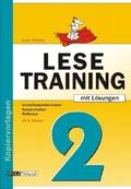 Lesetraining: Ab 2. Klasse