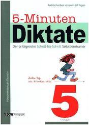 5-Minuten-Diktate: 5. Schuljahr
