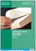 Fachwörterbuch Ergotherapie, Deutsch-Englisch, Englisch-Deutsch