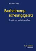 Bauforderungssicherungsgesetz (BauFordSiG), Kommentar