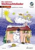 Die schönsten Weihnachtslieder, Notenausg. m. Audio-CDs: Für Querflöte, m. Audio-CD