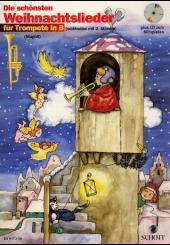 Die schönsten Weihnachtslieder, Notenausg. m. Audio-CDs: Für 1-2 Trompeten, m. Audio-CD
