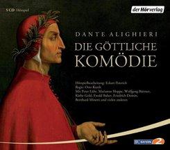 Die göttliche Komödie, 5 Audio-CDs