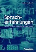 Spracherfahrungen, Neue Ausgabe: Arbeitsheft