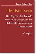 Deutsch sein
