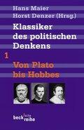 Klassiker des politischen Denkens - Tl.1