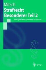 Strafrecht, Besonderer Teil: Strafrecht Besonderer Teil 2; Bd.2/2