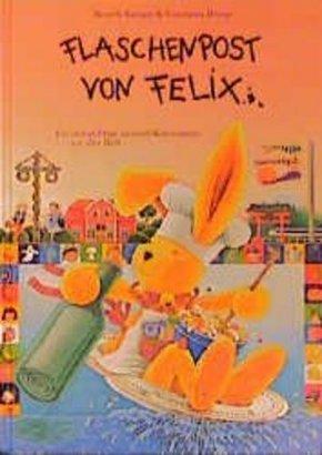 Flaschenpost von Felix, m. Kochmütze