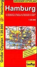 GeoMap Stadtplan Hamburg