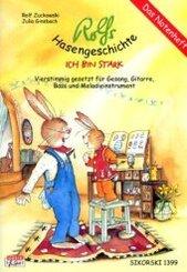 Rolfs Hasengeschichte, Das Notenheft