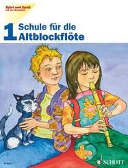 Schule für die Altblockflöte - H.1