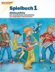 Spielbuch Altblockflöte - H.1