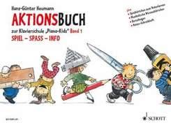 Piano Kids, Aktionsbuch - Bd.1