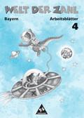 Die Welt der Zahl, Ausgabe Grundschule Bayern, EURO: 4. Jahrgangsstufe, Arbeitsblätter