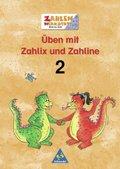 Üben mit Zahlix und Zahline, EURO: 2. Schuljahr