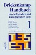 Brickenkamp Handbuch psychologischer und pädagogischer Tests - Bd.1