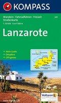 Kompass Karte Lanzarote