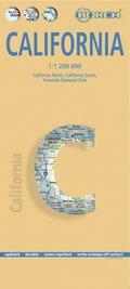 Borch Map Kalifornien; California