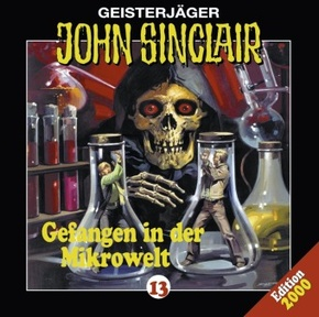 Geisterjäger John Sinclair - Gefangen in der Mikrowelt, 1 Audio-CD