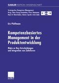 Kompetenzbasiertes Management in der Produktentwicklung