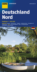 ADAC Karte: Deutschland Nord