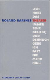 Ich habe das Theater immer sehr geliebt, und dennoch gehe ich fast nie mehr hin