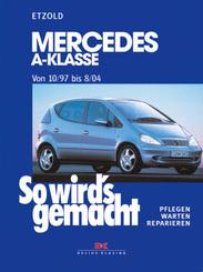 Mercedes A-Klasse von 10/97 bis 8/04