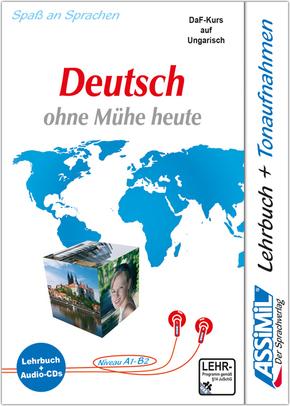 Assimil nemetül könnyuzerrel: Lehrbuch, m. 4 Audio-CDs