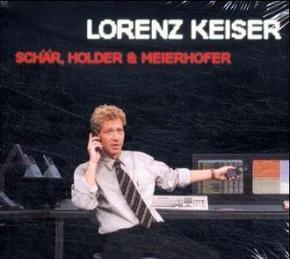 Schär, Holder & Meierhofer, 1 Audio-CD