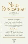 Neue Rundschau: Radiophonie; 112. Jahrgang 2001; H.4