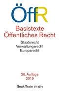 Basistexte Öffentliches Recht (ÖffR)