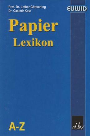 Papier-Lexikon, 3 Bde. m. CD-ROM