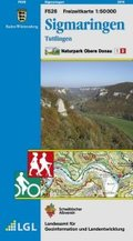 Topographische Freizeitkarte Baden-Württemberg Sigmaringen, Tuttlingen