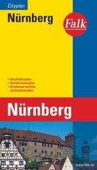 Falk Plan Nürnberg, Cityplan
