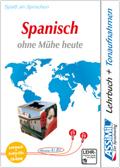 Assimil Spanisch ohne Mühe heute, Lehrbuch, 4 Audio-CDs u. 1 CD-ROM