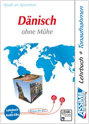 Assimil Dänisch ohne Mühe: Lehrbuch und 4 Audio-CDs