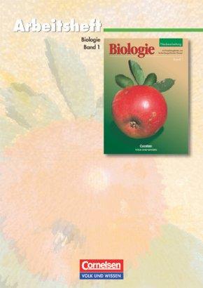 Biologie Band 1, Neubearbeitung 2002: Arbeitsheft
