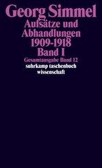 Aufsätze und Abhandlungen 1909-1918 - Bd.1