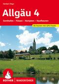 Rother Wanderführer Allgäu - Bd.4