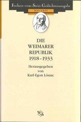 Die Weimarer Republik 1918-1933